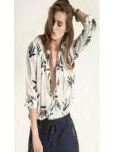 N�  - FEMALE LONG-SLEEVED BLOUSE